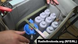Мобільна станція для очищення води