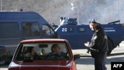 Kontrola na granici Kosova i Srbije, sa srpske strane, arhiv
