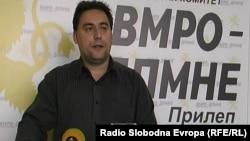 Иле Тасески, општинскиот комитет на ВМРО-ДПМНЕ од Прилеп.