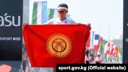 Айваз Оморканов на турнире Ironman 70.3 Astana. Нур-Султан, 14 июля 2019 года.