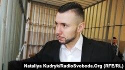 Віталій Марків перед початком судового засідання 12 квітня 2019 року, Павія, Італія