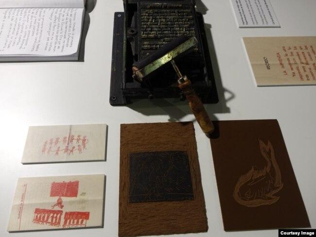 Реконструкция школьной типографии Баньюэлос-де-Буреба