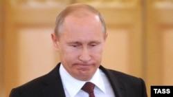Владимир Путин, президент России. Москва, 17 июля 2012 года.