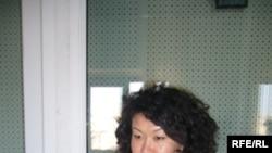 Eleonora Mambetshakirova, correspondent of RFE/RL's Kyrgyz Service