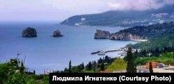 Лагерь «Артек» (архив Игнатенко)