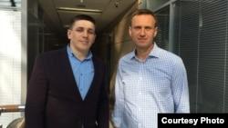 Андрей Боровиков и Алексей Навальный (архивное фото)