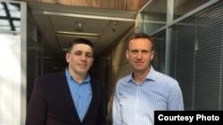 Андрей Боровиков и Алексей Навальный