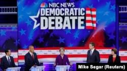 Dezbaterea candidaților Partidului Democrat