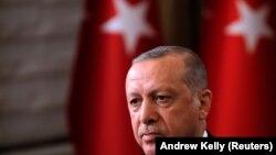 Presidenti i Turqisë, Recep Rayyip Erdogan.