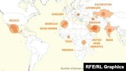 Пегаз: Хакирање на мобилните телефони на новинари ширум светот