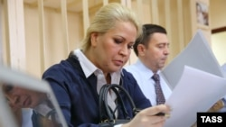 Yevgenia Vasilyeva in court