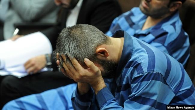 متهمان قتل علیرضا شیرمحمدعلی در دادگاه