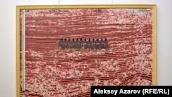 Қатипа апаның «Қиямет соты» картинасы. Алматы. 8 наурыз, 2018 жыл.