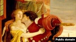 Ромео и Джульетта, Форд Мадокс Браун, 1870