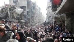 Жители одного из сирийских городов.