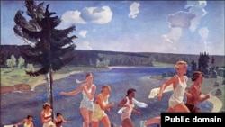 """Александр Дейнека, """"Раздолье"""", 1944 год"""