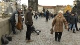 Ukraine Grandmother Prague grab