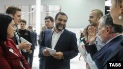 """Председатель совета директоров ГК """"Тройка Диалог"""" Рубен Варданян. 16 сентября 2012"""