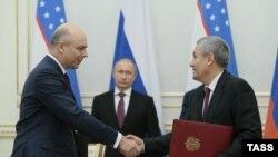 Anton Siluanov dhe Rustam Azimov