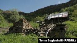 დათვია ლიქოკელის სახლი სოფელ ქობულოში