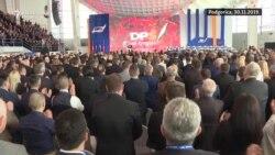 Đukanović ponovo šef partije bez konkurencije
