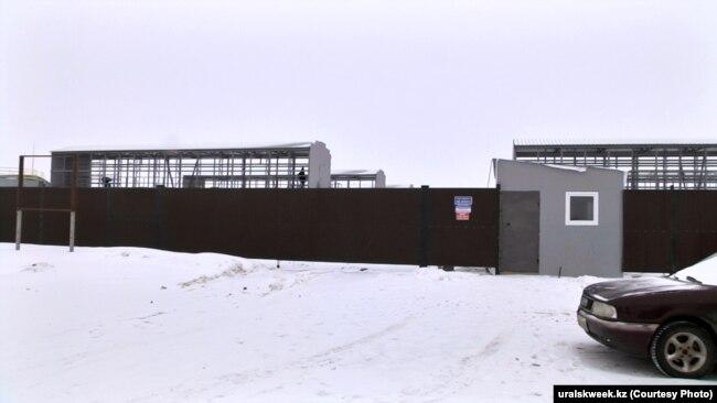 """БҚО-да салынып жатқан дата орталық. Сурет """"Уральская неделя"""" басылымынан алынған."""