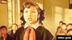 В кадре «Меня зовут Кожа» – Жанар, которую сыграла Гульнар Карабаева.