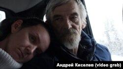 Юрий Дмитриев с дочерью Катей