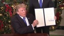 Președintele Statelor Unite Doland Trump a recunoscut Ierusalimul drept capitală a Israelului