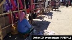 На базаре в Кызылординской области. Иллюстративное фото.