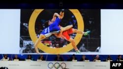 Халықаралық олимпиада комитетінің (ХОК) 125-сессиясы. Буэнос-Айрес, 8 қыркүйек 2013 жыл.