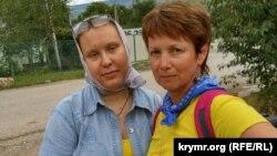 Галина Балабан и Алена Попова