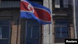 Шимолий Корея байроғи.