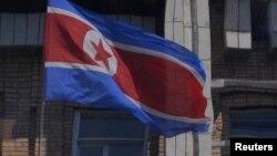 Государственный флаг КНДР.