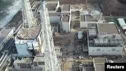 The crippled Fukushima Daiichi Nuclear Power Plant in Japan