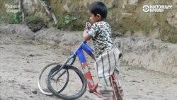 Не беда, что у велосипеда пока не хватает деталей