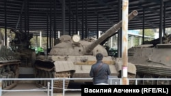Советский танк Т-62. Военный музей КНР (Пекин). Фото: Юрий Мальцев