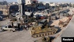 Սիրիա - Կառավարական զորքերը Քուսաիր քաղաքում, 5-ը հունիսի, 2013թ.