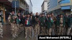 السليمانية:قوات كوردية لمكافحة الشغب