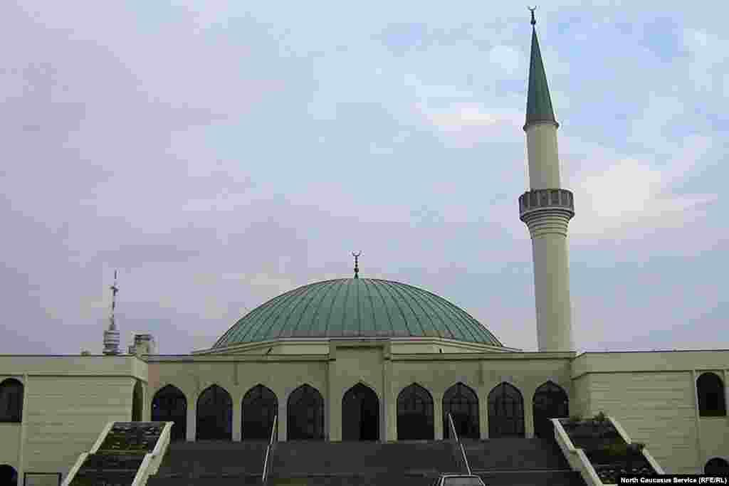 Австрия. Мечеть в Вене.