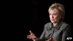 Хиллари Клинтон в бытность государственным секретарем США.