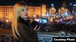 Ukraine -- Natalie Sedletska Reports From Euromaidan, December 2013.