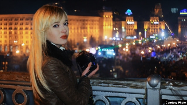 Ukraine -- Natalie Sedletska Reports From Euromaidan, December 2013.