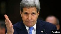 John Kerry gjatë dëgjimit të sotëm në Senatin e Shteteve të Bashkuara