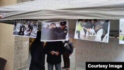 Azerbaijan. Germany. human rights. political prisoners. exhibition. protest.