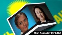 Элмира Жумалиева менен Чолпон Эсенаманова депутат болгонуна үч ай толгондо мандаттан кол жууган