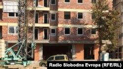 Згради кои се градат во Аеродром и во Карпош во Скопје