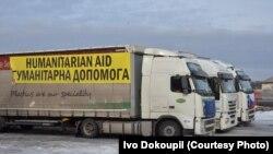 Ілюстраційне фото. Чеський гомунітарний конвой. Лютий 2015 року