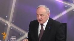RFE/RL Interview: Moldovan President Nicolae Timofti