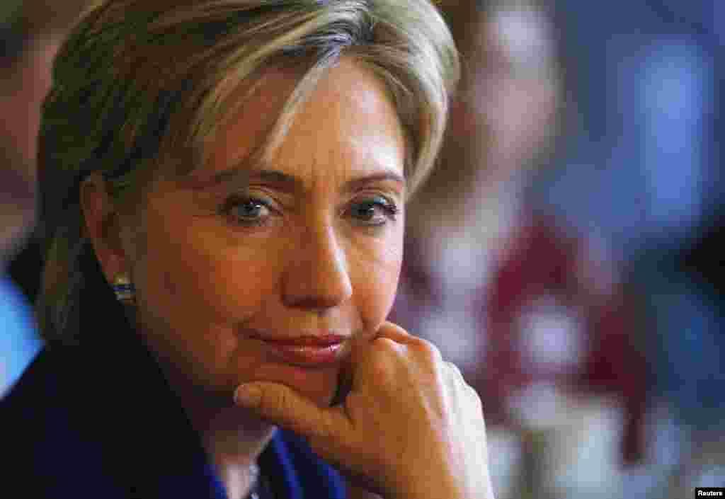 """Hillary Clinton: """"Parte din misiunea mea a fost la început să repar încrederea lumii în conducerea Americii."""""""